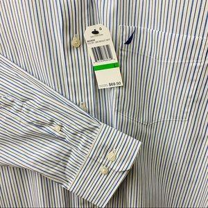 Nautica Shirts - NEW - Nautica Button-Down Shirt Sz Large